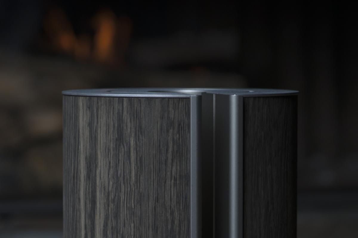 illum urn - Fossil Oak Platinum