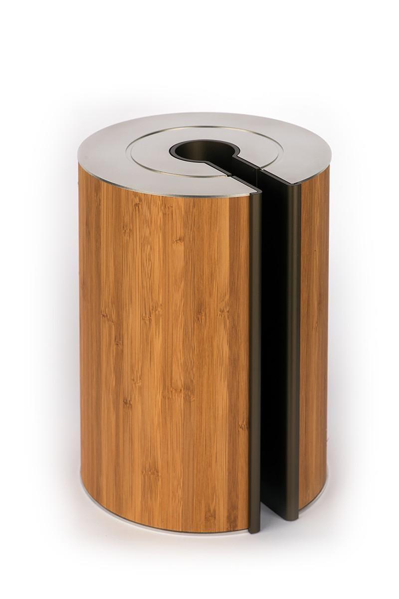 illum urn - Bamboo - Bronze
